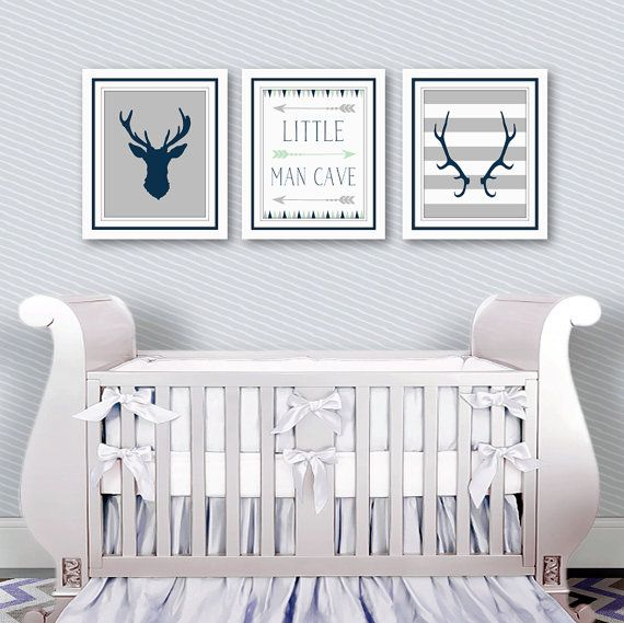 Baby Boy Nursery Decor