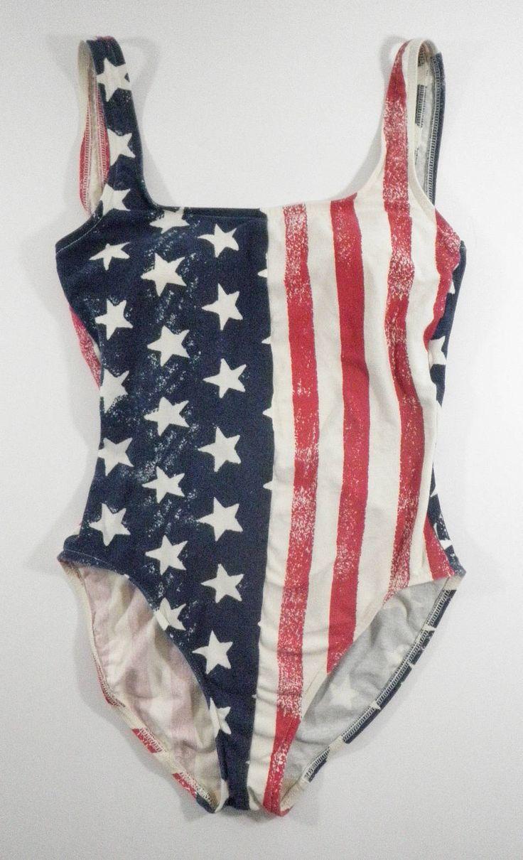Catalina Vintage 80s American Flag Bathing Swim Suit Stars Stripes Cotton Size 12 One Piece Bodysuit Leotard by TraSheeWomen on Etsy #vintage #onepiece #swimsuit #bathingsuit #americanflag #redwhiteandblue #starsandstripes #womensclothing #womensclothes #vintagewomensclothing