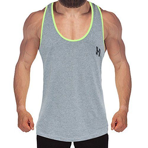 Hibote Fitness Tank Top Hommes Bodybuilding Muscle Shirt Workout Gym Vest #Hibote #Fitness #Tank #Hommes #Bodybuilding #Muscle #Shirt #Workout #Vest