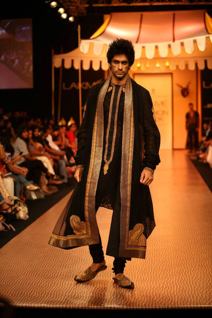 Ladies and Gentlemen, these are the men from Lamke's Fashion Week in India.