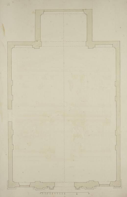 [Plan of the Chiesa dell'Abbazia della Misericordia, Venice]. | King George…