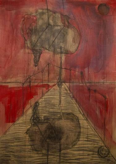 """Saatchi Art Artist Simis Gatenio; Painting, """"Fast subconscious experiment"""" #art"""