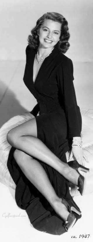 Cyd Charisse me Tula Ellice Finkles, Amarillo TX, (1922-2008), heart attack.  Singer and dancer.  Started dancing at age 6 to strengthen muscles after polio bout.  Married and divorced Nico Charisse 1939-1947.  Married singer Tony Martin 1948-2008.