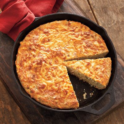 Sour Cream Cornbread - Cast Iron Skillet Recipes - Southern Living