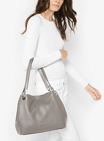 056817710e93 Raven Large Leather Shoulder Bag. Raven Large Leather Shoulder Bag Michael  Kors ...