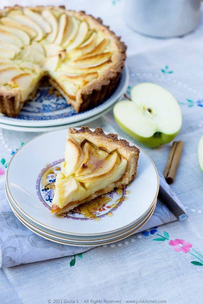 Apple tart and early spring in Florence - Juls' Kitchen | Juls' Kitchen
