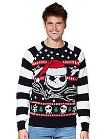 Jack Skellington The Nightmare Before Christmas Ugly Christmas
