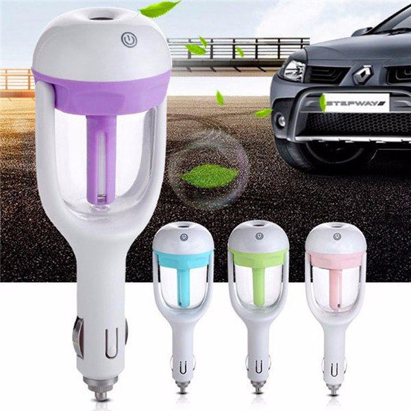 Car Humidifying <b>Air Purifier</b> Aroma Aromatherapy Oil Diffuser ...