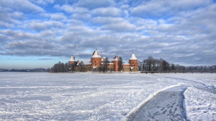 Trakai, Lithuania.