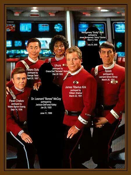 Star Trek Birthdays