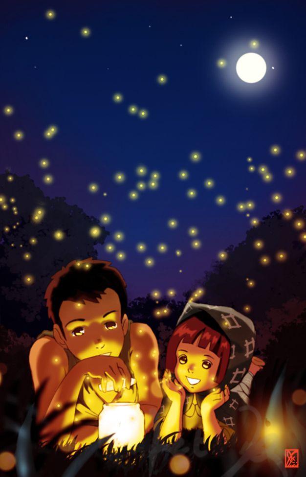 Firefly Night By Jeteffects Deviantart Com On Deviantart Grave Of