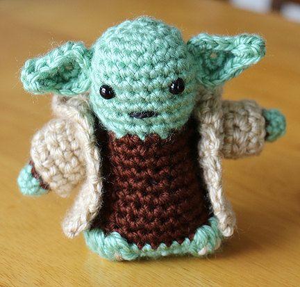 Star Wars Amigurumi Yoda with Cloak Doll Crochet by ...