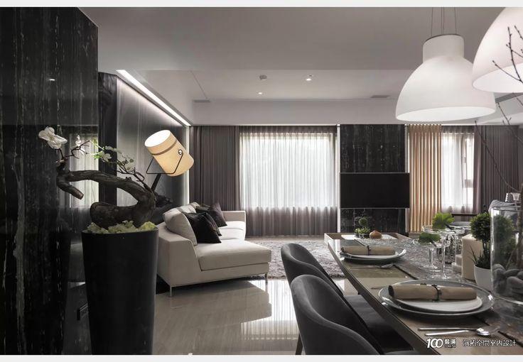 夢境之城_飯店風設計個案—100裝潢網