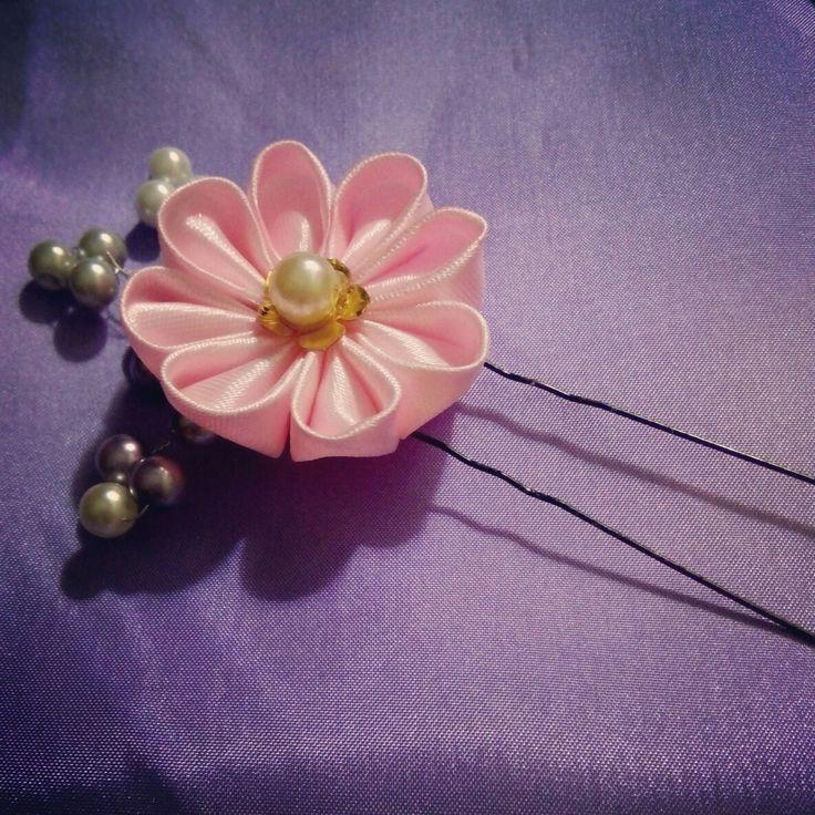Sakura hairpin