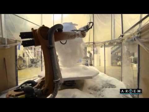 7 axis Robot Arm CNC at Artem - YouTube