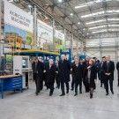 The opening ceremony of Pronar's new hall in Narewka was attended by attended by Deputy Prime Minister and Minister of Science and Higher Education Jaroslaw Gowin, representatives of local authorities and local government, clergy and the Management and employees of our company.The meeting began in Narew, where invited guests visited the main factory and the …