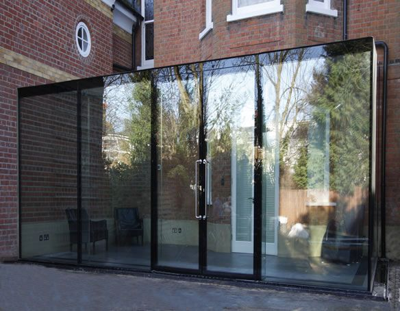17 best images about glass box extensions on pinterest. Black Bedroom Furniture Sets. Home Design Ideas