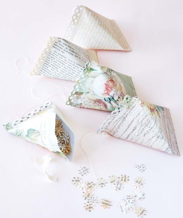 Stitched triangles