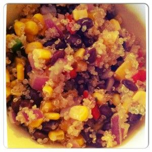 black bean quinoa | Food things | Pinterest