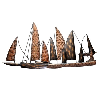 Sail Boat Wall Art     was $69.99 now $34.99   SKU 104724   38inches wide23.5inches high