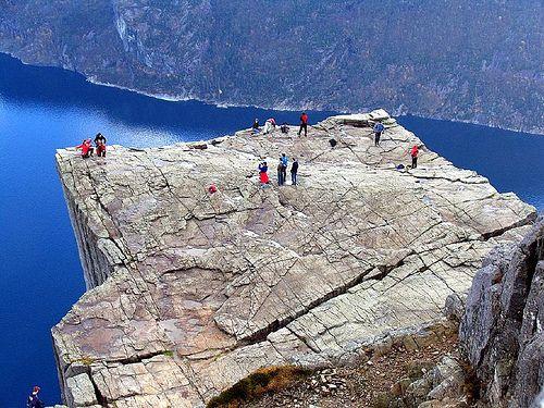 Pulpit Rock Preikestolen in Norway :http://travellingcolors.com/pulpit-rock-preikestolen-in-norway.html