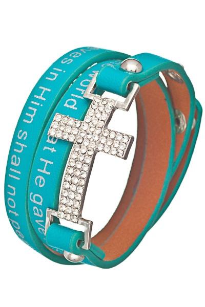 John 3:16 Wrap Bracelet