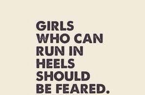 Feel the fear.