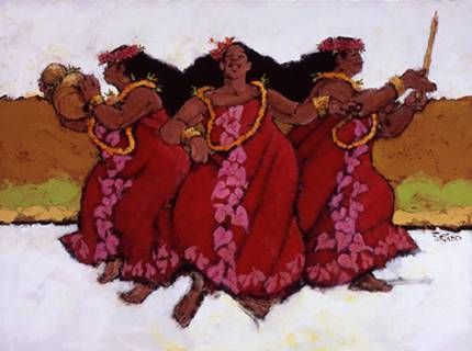 Red Mu'u's by Al Furtado at Maui Hands