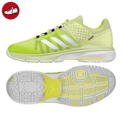 adidas Damen Court Stabil W Handballschuhe, Gelb (Ice Yellow /Ftwr  White/Utility