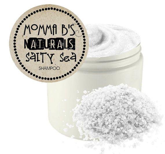 Natural #DetoxShampoo Dead Sea Salt #Clarifying