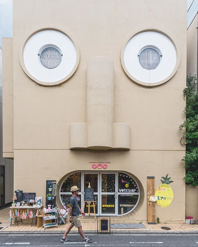 Face House  #Repost from @johnny777 arigato!  #facehouse #inspiration  #facehousekyoto #housefront #shopfront #kyoto #japan #tokyosigns