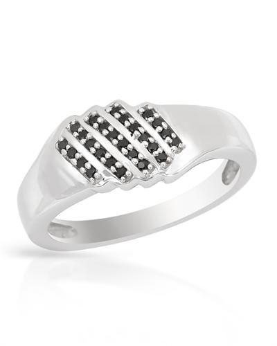 Sterling Silver Spinel Band