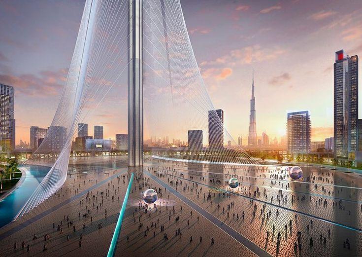 The Tower at Dubai Creek Harbour, Dubai, 2020 - Santiago Calatrava LLC
