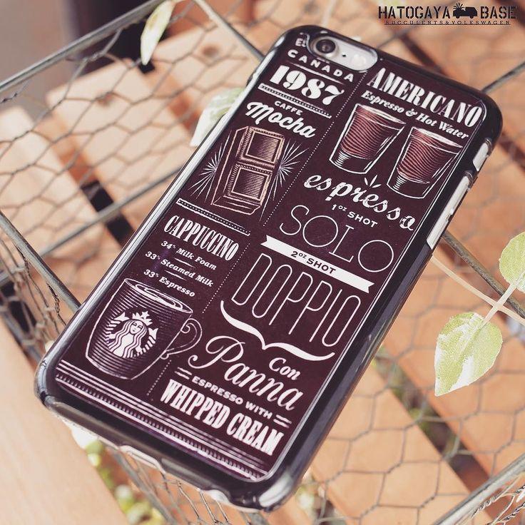 スターバックスのiPhoneケースが新入荷ですブラックボディにスタバのメニューアートが描かれたケースはスタバのチョークアートをモチーフにしていますiPhone6s/Plusどちらもございますが数点のみの入荷ですのでお早めにどうぞ #iphonecase #iphone6plusケース #iphone6ケース  #iphone6sケース #iphone6splusケース #iphone6 #iphone6plus #iphone6s #starbucks #スターバックス #スタバ #海外スタバ
