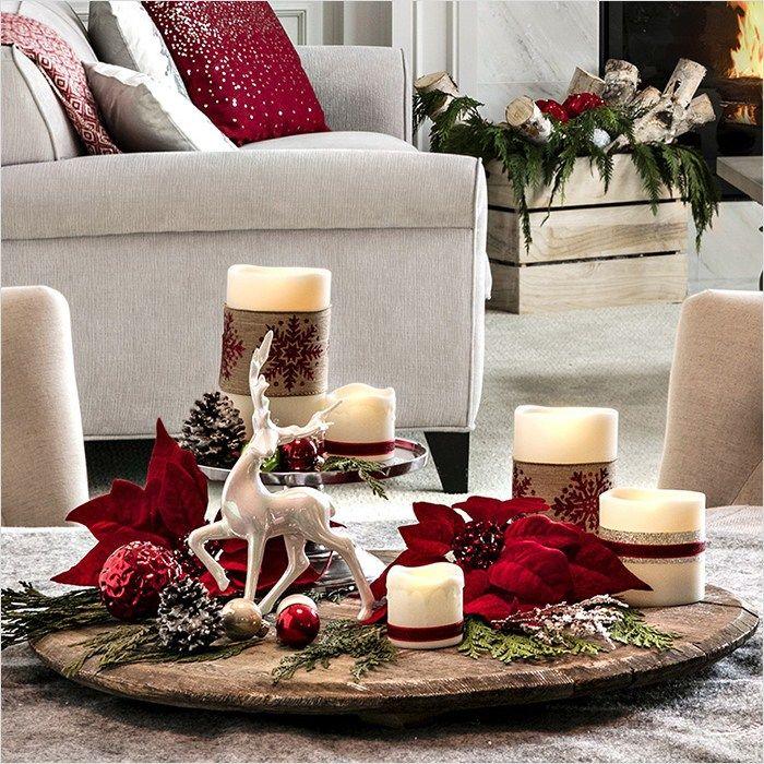 40 Best Coffee Table Christmas Decorations On A Budget Decorar Casa Navidad Mesa Navidad Decoracion Ideas De Decoracion De Navidad