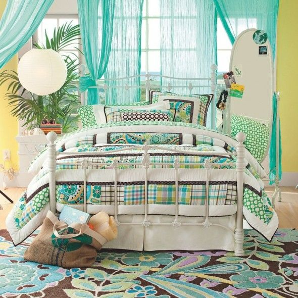 42 best little girls teenage girls room ideas images on pinterest girl rooms zebra print - Teen beach bedroom ideas ...