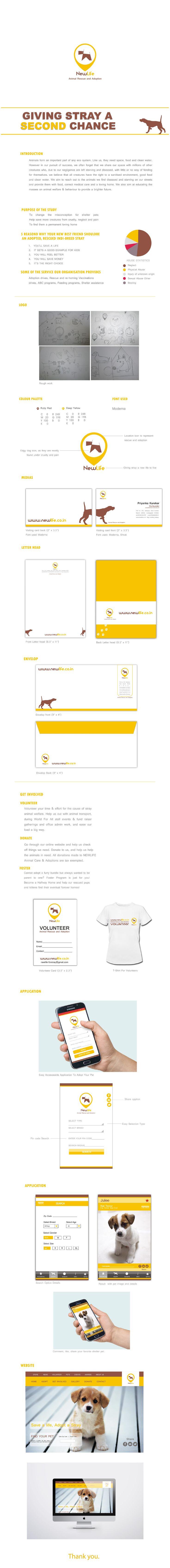 Ознакомьтесь с этим проектом @Behance: «New Life, Animal Rescue & Adoption» https://www.behance.net/gallery/43703395/New-Life-Animal-Rescue-Adoption
