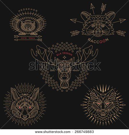 Wolf Logo Photos et images de stock   Shutterstock