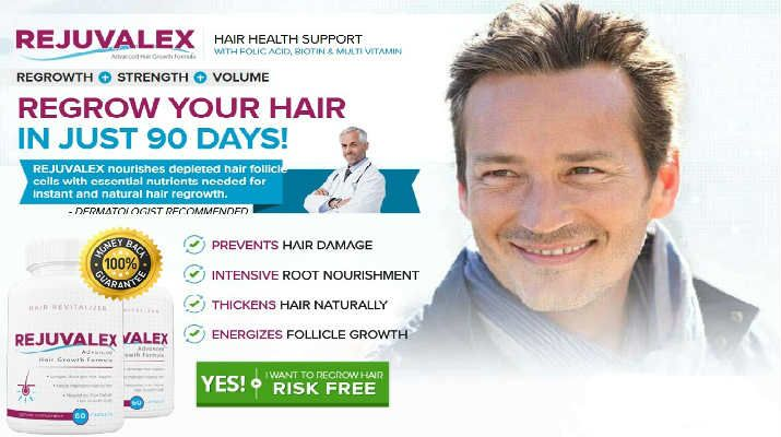 Rejuvalex Advanced Hair Growth Formula Hair Loss Remedies, Hair loss treatment, Hair Regrowth, thinning hair treatment – Regrow Hair Naturally and Fast in 90 Days!