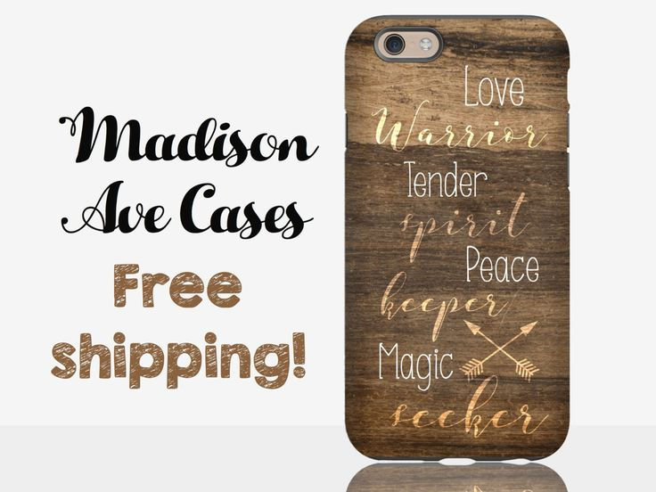 Love Warrior Tender Spirit Peace Maker Magic Seeker Phone Case