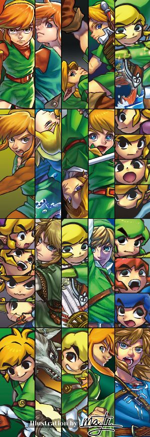 Link through the games