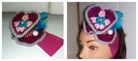 crochet punk hat