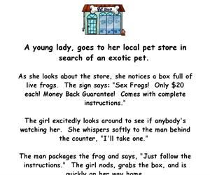 "A Girl Buys A ""Sex Frog"" – Funny Adult Joke Of The Day"