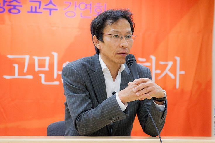 Sungouk Chong Photography :: 강상중 교수 Professor Kang Sang-jung