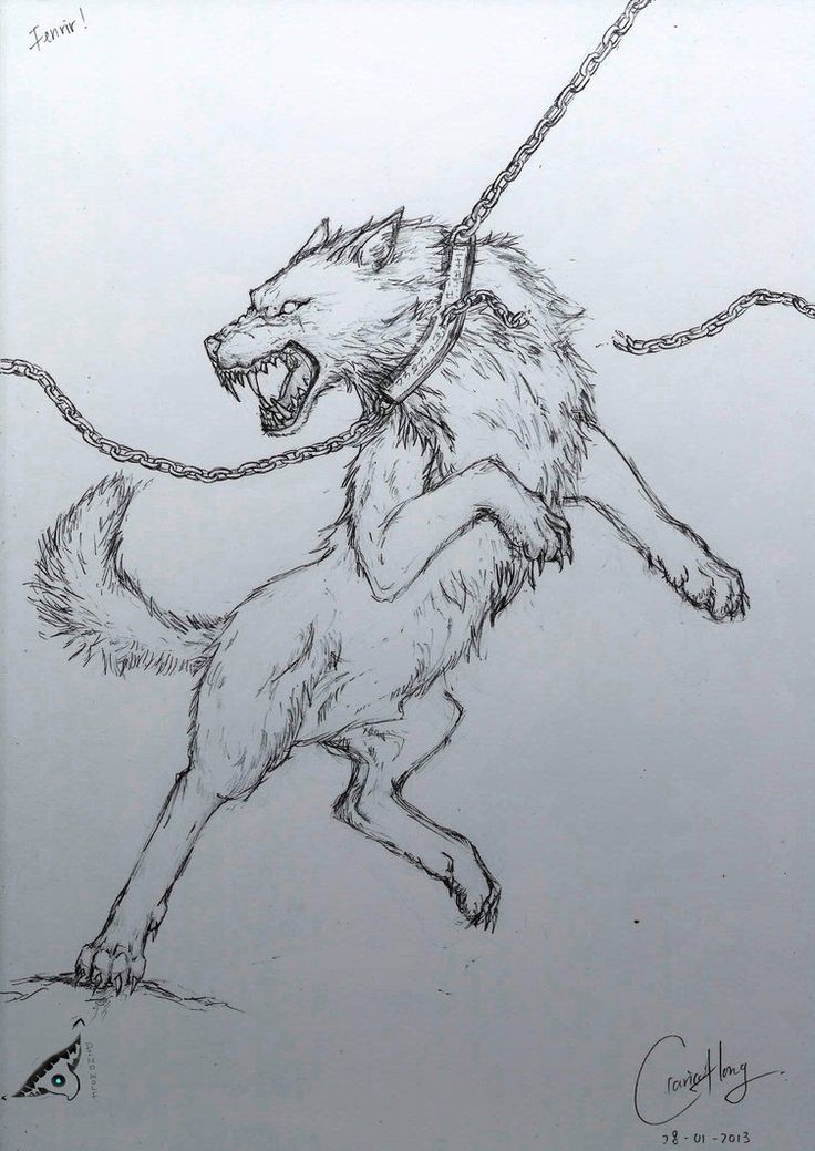 Fenrir Bound By Ribbon Tatoo - Yahoo Image Search Results
