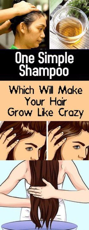 One Simple Shampoo Which Will Make Your Hair Grow Like Crazy