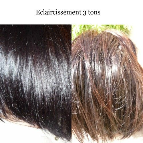 masque claircissant 2 mois aprs un claircissement de 3 tons ralis sur 2 mois - Eclaircissant Cheveux Colors