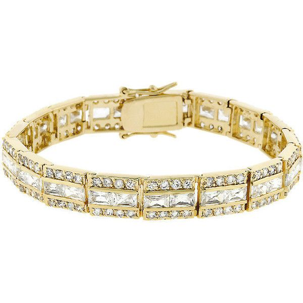 Brazalete Newport (€140) found on Polyvore  #brazalete #bracelets #fashion #jewelry #jewels #joyas #joyería #lujo #moda #valentinasalerno #weddings #navidad #regalo #navidad #Christmas #gift #Winter #fashion #nochevieja