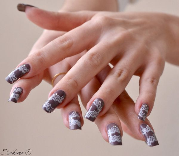 91 best KONAD - Stamping Nail images on Pinterest   Image plate ...