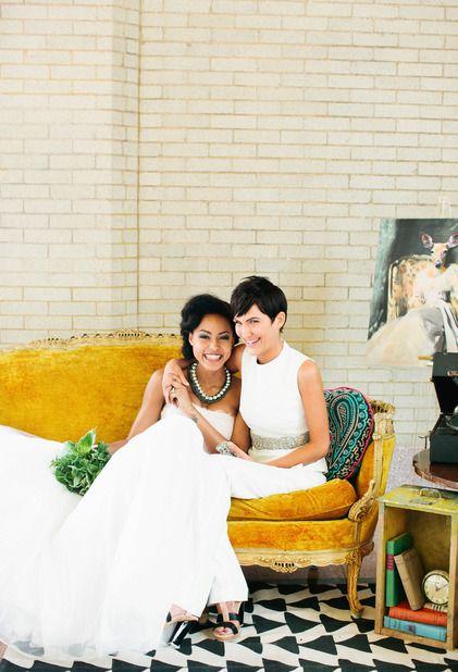 #twobrides #lesbianwedding #queerwedding #gaywedding #lgbtwedding #samesexwedding
